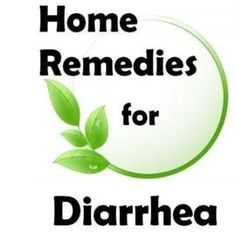 Effective Home Remedies for Diarrhea
