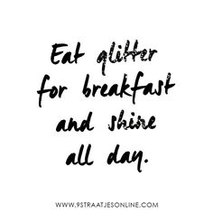SUNDAY QUOTE! Let's start the day fresh and shine all day.. www.9straatjesonline.com
