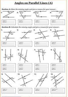 Area free printable grade math geometry worksheets fourth grade geometry worksheets math awesome 4 7 free . beginning geometry worksheets free Year 7 Maths Worksheets, Geometry Worksheets, Math Resources, Printable Worksheets, Printable Coloring, Social Studies Worksheets, Year 8 Maths, Free Printable, Angles Worksheet