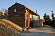Twisted Cabin in Norway by Jarmund/Vigsnæs Architects