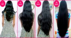 HOW TO MAKE YOUR HAIR GROW FASTER THAN EVER – 1 INCH IN A WEEK