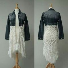 Jean/ Shawl Jacket