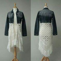 Jean/ Shawl Jacket