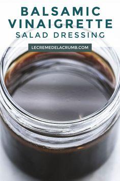 Zucchini and smoked salmon - Healthy Food Mom Honey Balsamic Vinaigrette, Balsamic Dressing, Vinaigrette Salad Dressing, Salad Dressing Recipes, Salad Dressings, Salad Recipes, Diet Recipes, Healthy Recipes, Salad