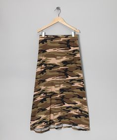 Take a look at this Army Camo Maxi Skirt by Forever Princess on #zulily today! DYT T3 girl, tween, teen