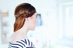 Zopffrisuren für mittellanges Haar, Zopffrisuren für dünnes und feines Haar, Frisuren mittellanges Haar, Beauty Blog, Frisur Trends, schnelle Frisuren, Frisuren unter 2 Minuten, Haar Trends, Ombre, Extensions, whoismocca.com