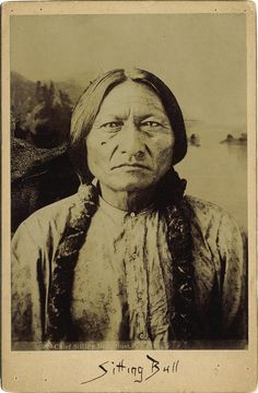 Iconic photo of Sitting Bull