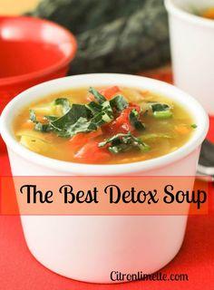 Detox Soup - citronlimette