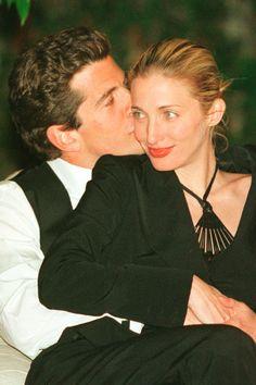 John F. Kennedy Jr. and Carolyn Bessette...