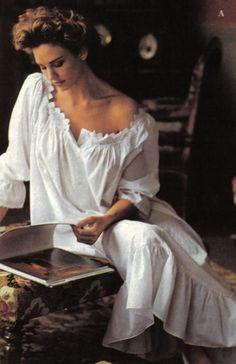 Sexy rare 1990 victoria 39 s secret frederique jill goodacre for Jill goodacre wedding dress