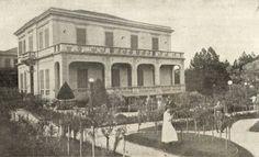 Colégio Anglo Latino, em 1920, onde o Sr Belfort de Mattos lecionou.