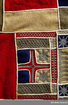Detail of a Sami brace for woman; Lapland, 1990/2000.Photo by Mats Landin. Collection  Stiftelsen Nordiska museet. CC-BY-NC-ND
