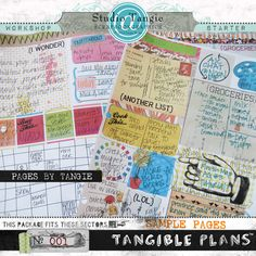 Hot off the press: Tangible Plans™ {Starter Kit & Workshop} and AJC Provisions {Parcel 10} | Studio Tangie