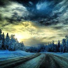 Talkeetna Alaska sunrise! Photo by Meagan Mercer