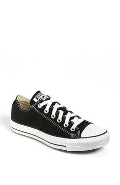 Converse Chuck Taylor® Low Sneaker (Women) available at #Nordstrom {classic black 8.5}