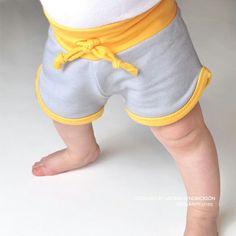 Baby Retro Shorts PDF Pattern