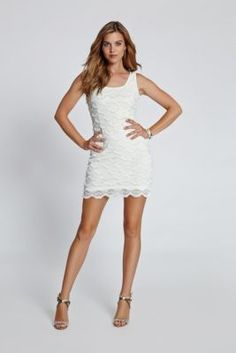 Maria Sleeveless Dress | GUESS.com