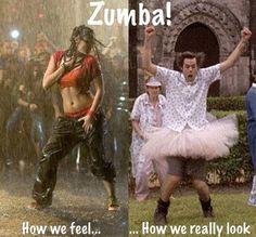 Zumba! Imagination vs. Reality  See more funny pics at killthehydra.com!