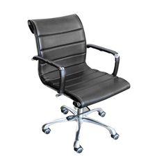 เก้าอี้สำนักงาน Super Soft-B (ทรงเตี้ย/หลังม้วน) ■ ขนาด : กว้าง 57 x ลึก 54 x สูง 88 เซนติเมตร ■ สี : ดำ / น้ำตาล ■ Main Material : หนัง PU ■ โครงเก้าอี้ : โครงเหล็กชุบโครเมี่ยม ■ แขนเก้าอี้ : แขนเก้าอี้เหล็กชุบโครเมี่ยมหุ้มด้วยหนัง ■ ก้อนโยก : ปรับเอนนอนได้ ■ โช๊ค : ปรับ สูง-ต่ำ ได้ ■ ขาเก้าอี้และลูกล้อ : ขาเก้าอี้อลูมิเนียมพร้อมลูกล้อ