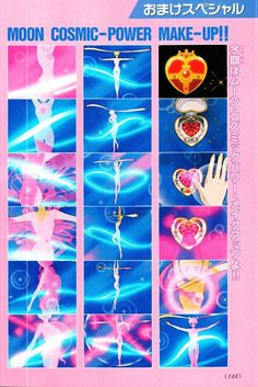 Moon Cosmic Power, Make Up! - anime Sailor Moon S Sailor Moon Transformation, Sailor Moon Aesthetic, Sailor Moon Character, Sailor Moon Usagi, Moon Pictures, Japanese Cartoon, Sailor Moon Crystal, Sailor Scouts, Manga Illustration