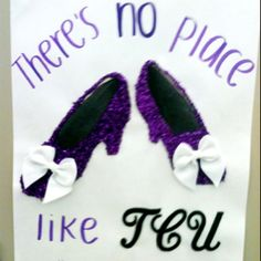 Totally need to do this kinda thing for college, even if I don't go to TCU :)