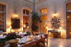 La Mirande, Avignon, France - recommended by Georgeanne Brennan