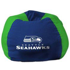 Seattle Seahawks bean bag.