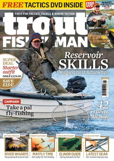 In this month's issue of Trout Fisherman there is a free modern stillwater tactics DVD. As well as, articles on the latest gear, River Wharfe- top grayling & brownietips, Mayfly time & Reservoir skills. Best Children Books, Childrens Books, Sea Angling, Fishing Magazines, Types Of Fish, Super Deal, Carp Fishing, Little Books, Trout