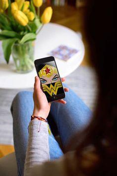 #WonderWoman #Design #Geek #WW #DCComics Design by Vandyd Diseño realizado por Vandyd Store