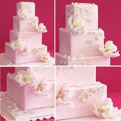 beautiful floral wedding cakes | Just For Wedding: Beautiful wedding Cake with Floral Inspiration