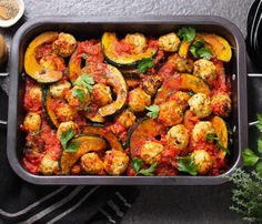 LeaderBrand Squash and Chicken Meatballs