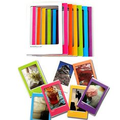New 7 Color Magnetic Photo Frame Pictures for FujiFilm Instax Mini Film Polaroid Instax Mini Film, Fujifilm Instax Mini 8, Magnetic Photo Frames, Instax Camera, Film Polaroid, Polaroids, Photo Picture Frames, Photo Booth, Pictures