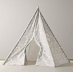 Damask Tent For The Playroom Love Canvas Tentrestoration Hardware