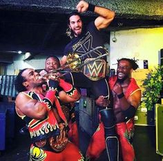Seth Rollins and New Day
