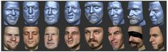Researchers invent system for 3-D reconstruction of sparse facial hair and skin