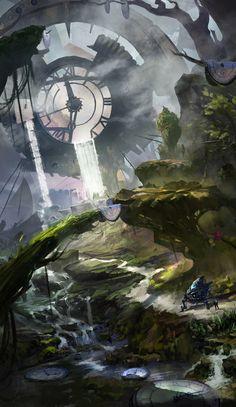 The memory of eternity, zhang zhulin on ArtStation at http://www.artstation.com/artwork/the-memory-of-eternity