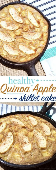 Quinoa Apple Cake