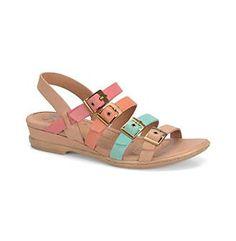 """Sofft® Women's """"Sapphire"""" Quad-Strap Sandals"""