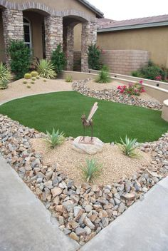landscape ideas for front of house | Landscaping Ideas & Garden Ideas > Landscaping With Stone