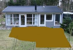 Plan over terrassen