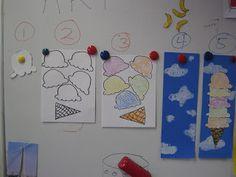 Texture ice cream cones roy g biv