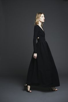 Preen Pre-fall - Love the back and it has sleeves!