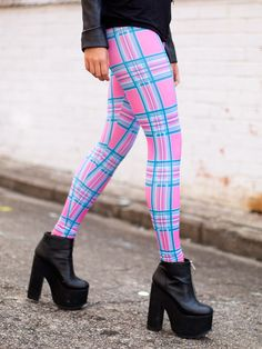 Tartan Barbie Toasties (WW 24HR $80AUD / US - LIMITED $64USD) by Black Milk Clothing