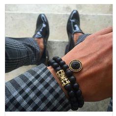 All Fashion, Mens Fashion, Editorial Fashion, Eye Candy, Cufflinks, Take That, Menswear, Bracelets, Leather