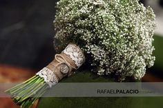 Maravilloso detalle en el ramo de paniculata