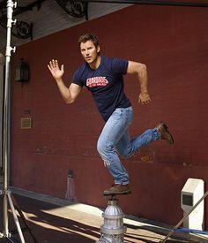 Chris Pratt. Hot damn, when did he get so hot?