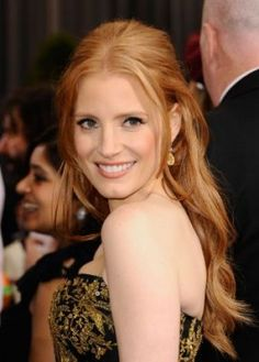 """Actress Jessica Chastain, who recently starred in """"The Help"""" and """"Tree of Life,"""" is a vegan."""