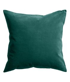 Check this out! Cushion cover in cotton velvet. Concealed zip at lower edge. - Visit hm.com to see more.