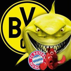 One, big heart. Bvb Vs Bayern, Fc Bayer, Championship League, Top League, Soccer Memes, Association Football, Europa League, Football Team, Manchester United