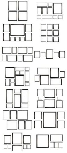 Ideas For Wall Gallery Family Frame Layout Photo Frame Layout, Photo Wall Collage, Picture Wall, Frame Wall Collage, Picture Collages, Picture Arrangements On Wall, Living Room Arrangements, Diy Room Decor, Living Room Decor
